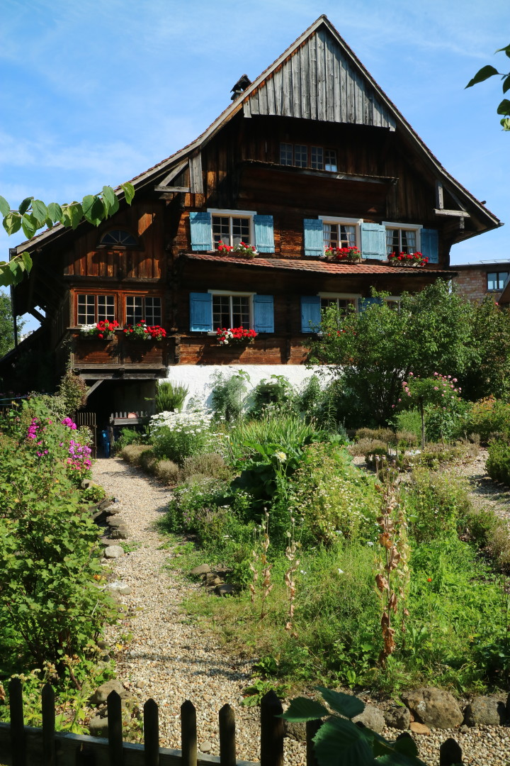 a picturesque house in Vorarlberg, Austria